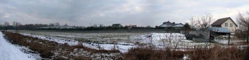 marcinkowice - panorama przed budowa