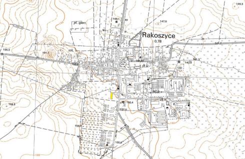 rakoszyce mapa