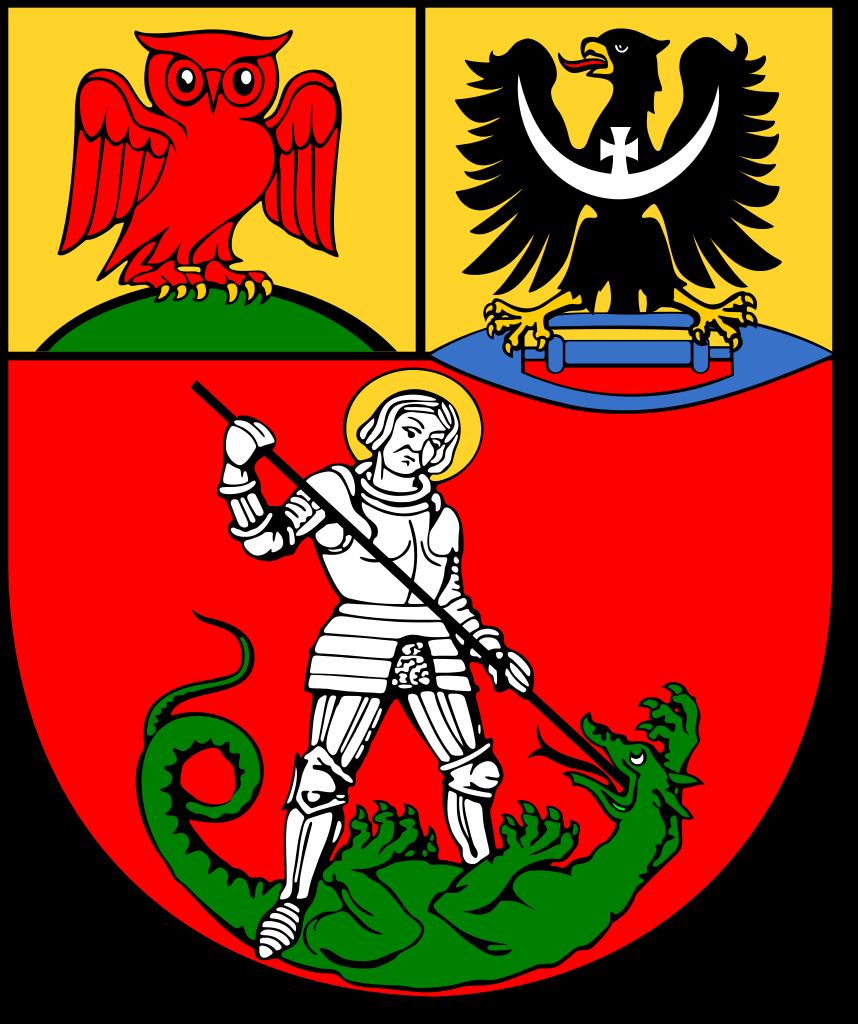 herb powiat dzierżoniowski